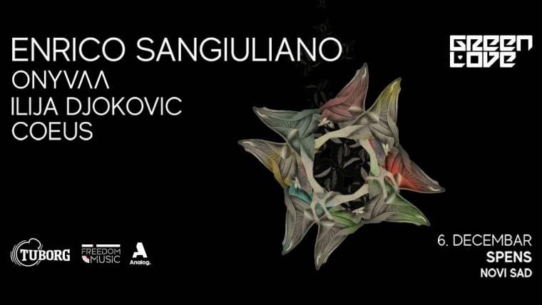 Enriko Sangiuliano 6. decembra na Spensu